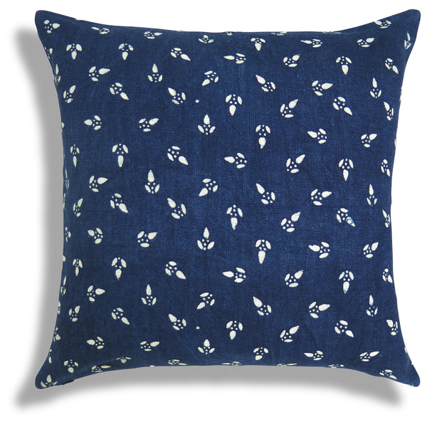 Wu Pillow in Indigo