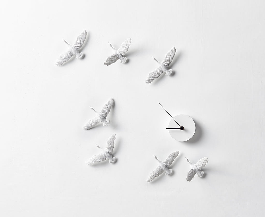 Migrant Bird Clock C-Form