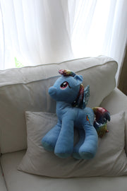 My Little Pony Fluffy Rainbow Dash Cuddle Pillow