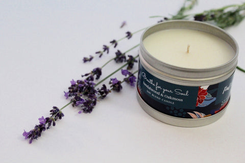 Inspirational Candle - Sandalwood and Oakmoss