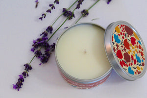 Inspirational Candle - Orange Blossom and Waterlily
