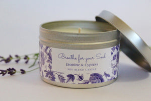 Inspirational Candle - Jasmine and Cypress