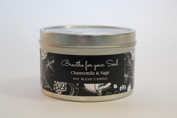 Inspirational Candle - Chamomile and Sage