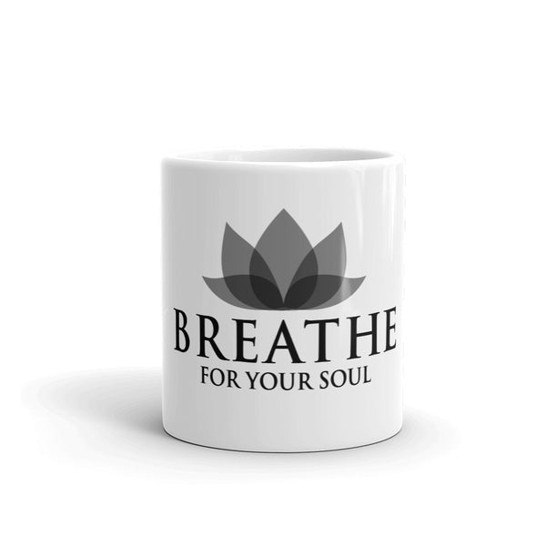 Mug  - Breathe for your Soul with Lotus (11 oz)