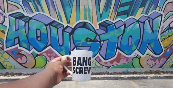 BANG SCREW MUG  (BLACK)