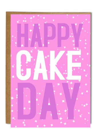 """Happy Cake Day"" Greeting Card"
