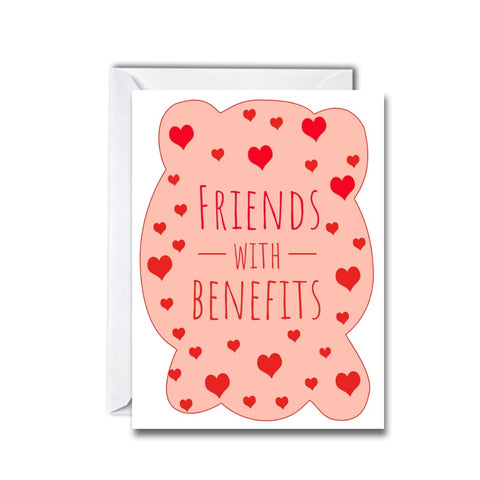 Friends with Benefits Greeting Card