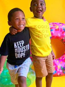 Koolest Kid in H-Town Kids Tee