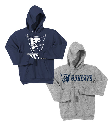 GV Bobcats Pullover Hoodie