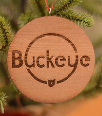 Buckeye Ornament