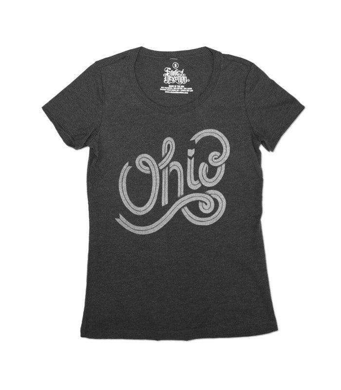 Women's Cursive Ohio T-shirt