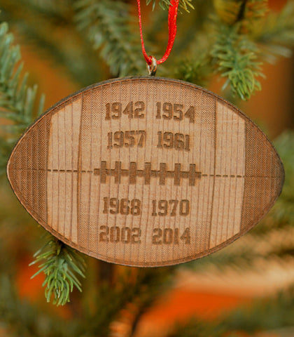 Football Champions Ornament