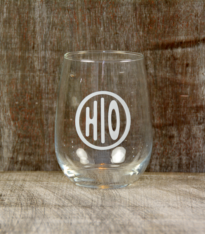 Wine Glass - Ohio