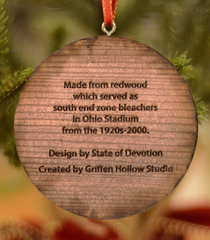 Vintage Ohio Ornament