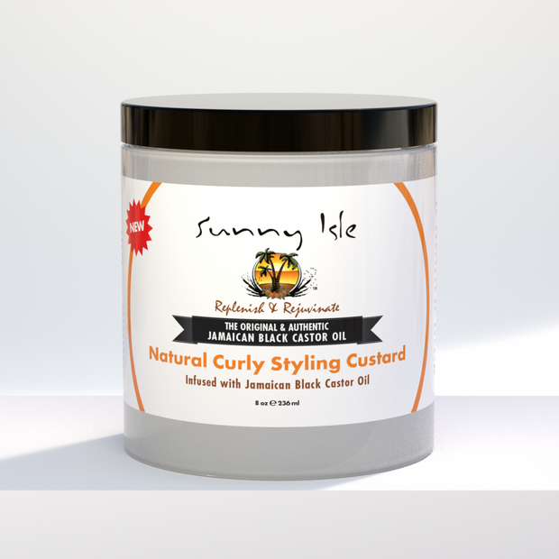 Jamaican Black Castor Oil Curly Custard