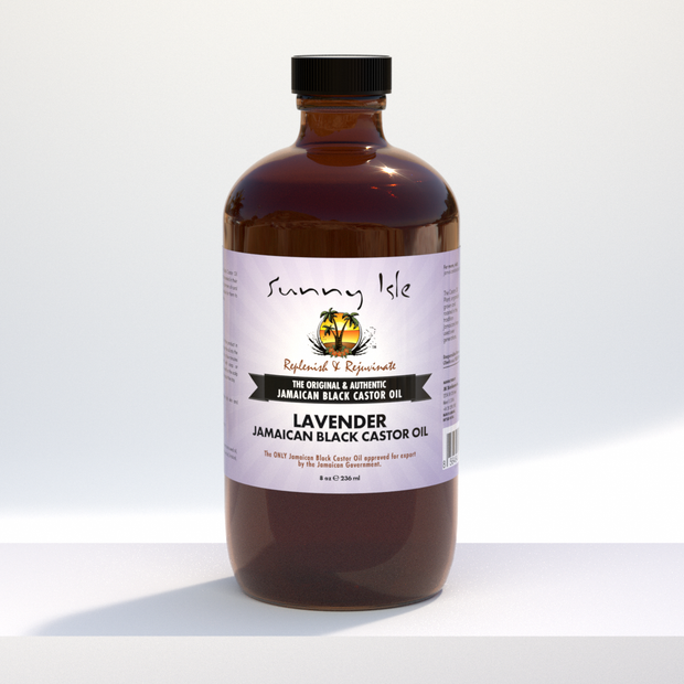 Jamaican Black Castor Oil with Lavender