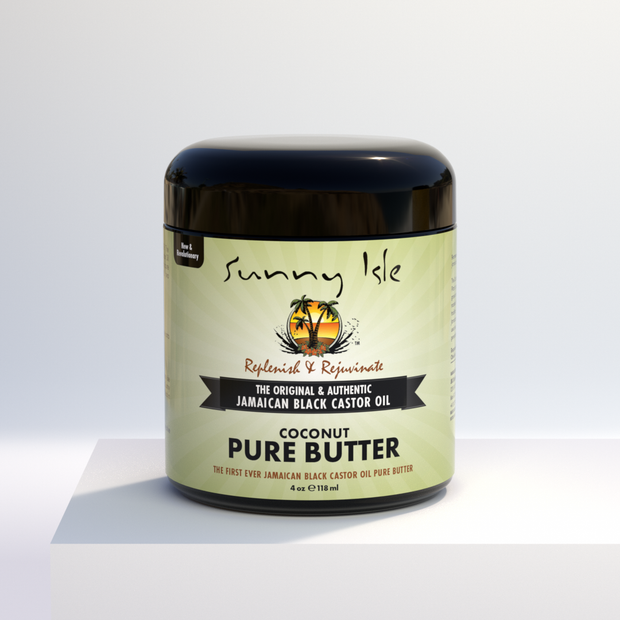 Jamaican Black Castor Oil Pure Butter with Coconut