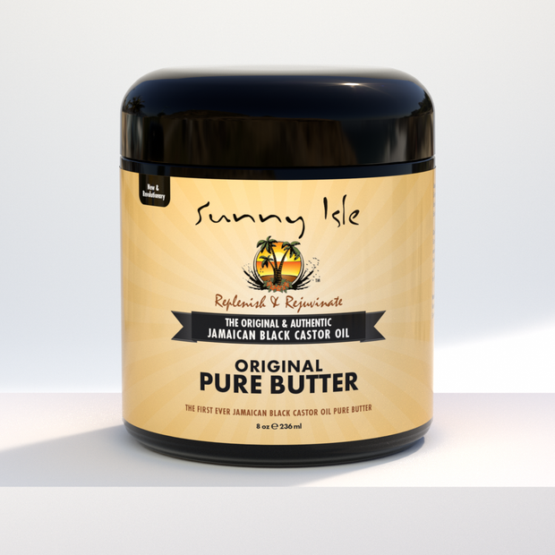 Jamaican Black Castor Oil Pure Butter
