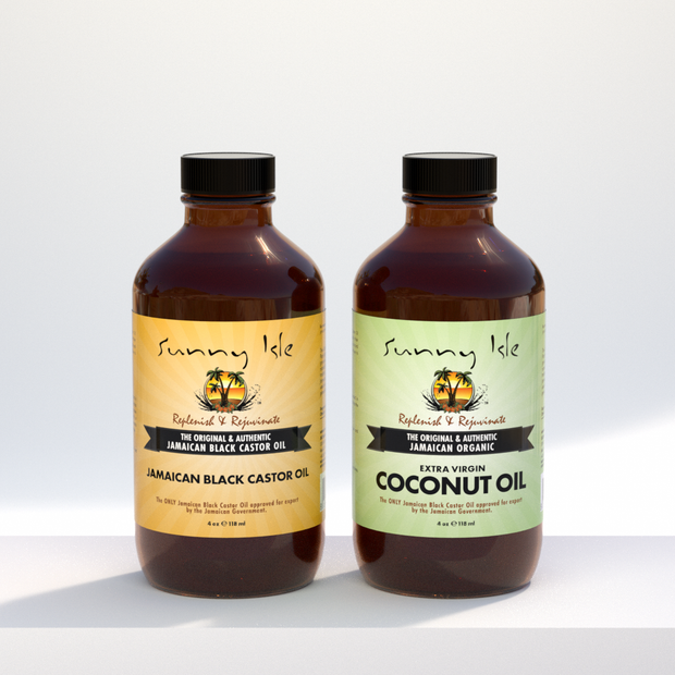 Jamaican Black Castor Oil & Coconut Oil Bundle