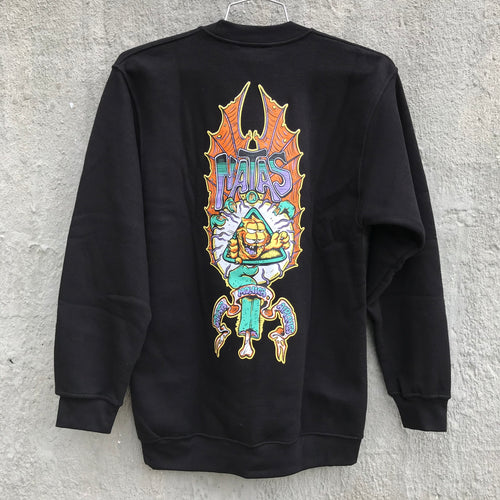 Natas & Burrito Breath Crewneck Sweatshirt