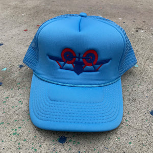 SMA Plane Trucker Hat - Light Blue