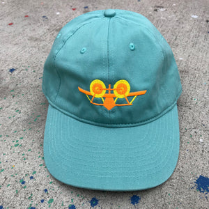 SMA Plane Dad Hat - Green