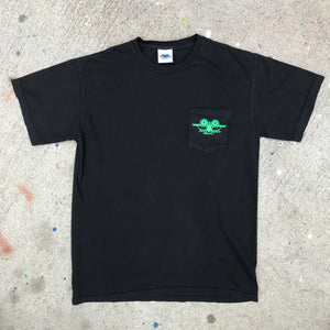 Natas Leaves Pocket Shirt - Black