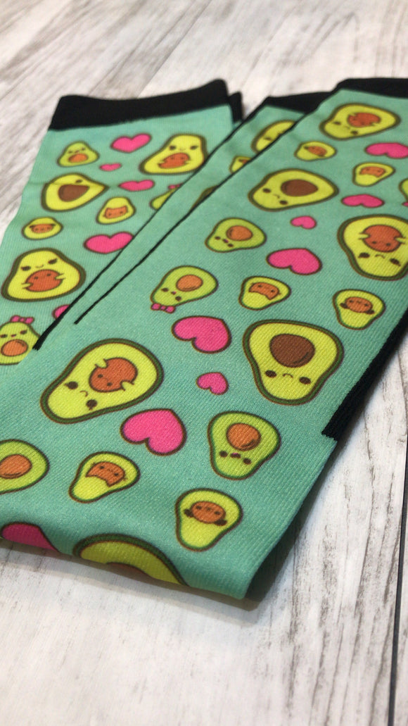 Avocado Fam Jam Boot Socks