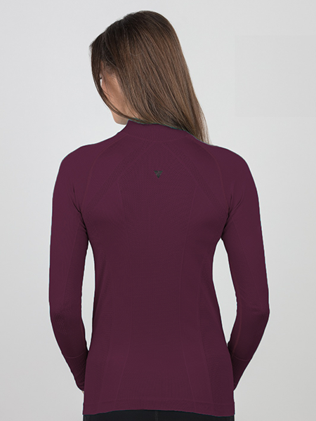 Signature UV Protection Shirt - Merlot