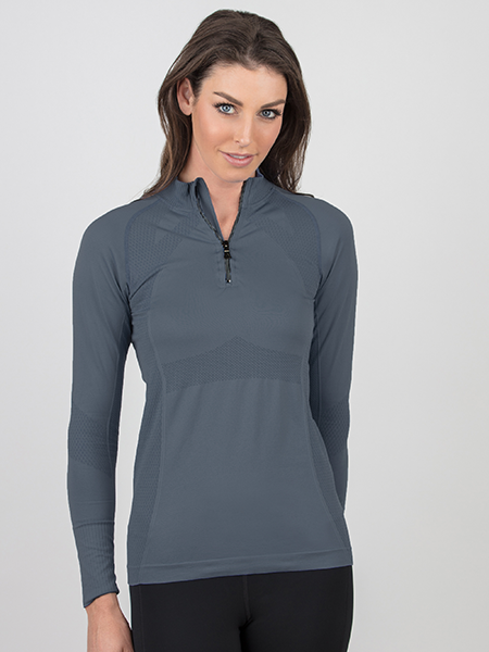 Signature UV Protection Shirt - Platinum Grey
