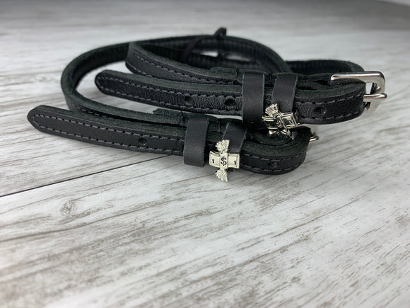 Owning a Horse Spur Straps