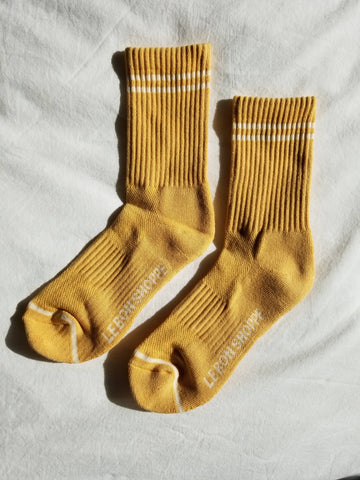 Le Bon Shoppe Boyfriend Socks - Butter