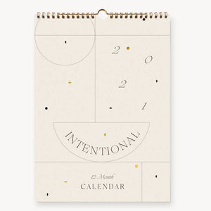 2021 Intentional Wall Calendar