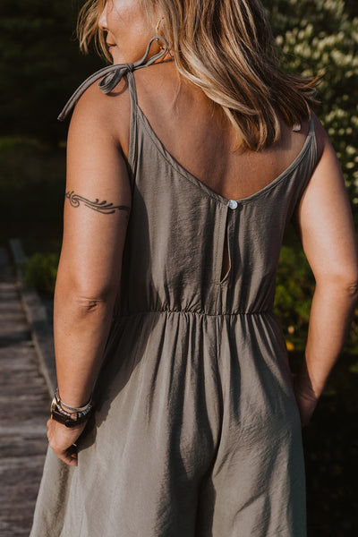 Wynn Jumpsuit - Sage Green