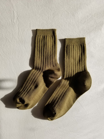Le Bon Shoppe Her Socks - Pesto