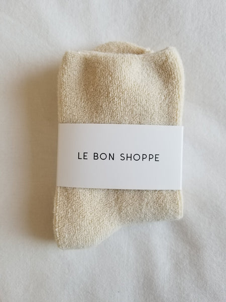 Le Bon Shoppe Cloud Socks - Ecru
