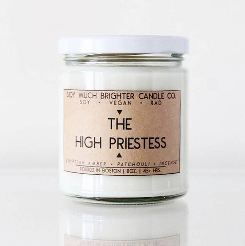 Soy Candle // The High Priestess // 8oz