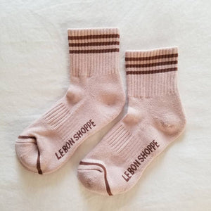 Le Bon Shoppe Girlfriend Socks - Bellini