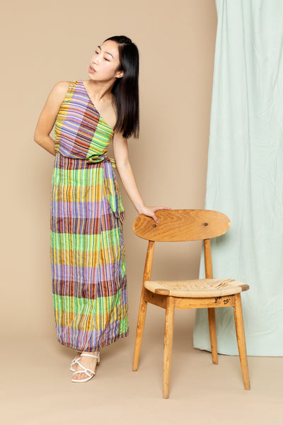 Maxi Jayden Skirt - Yellow Stripe