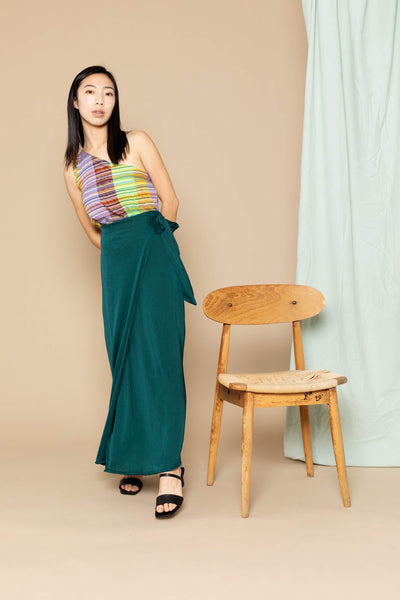 Maxi Jayden Skirt - Emerald