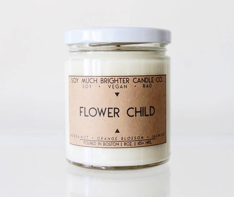 Soy Candle // Flower Child //  8oz