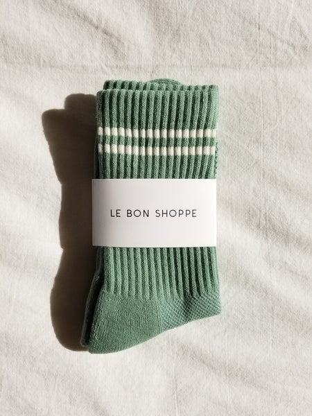 Le Bon Shoppe Boyfriend Socks - Meadow