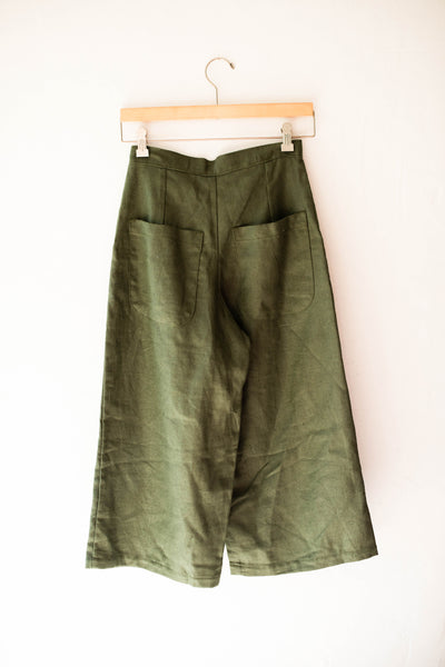 Lindsey Wide Leg Cropped Pants