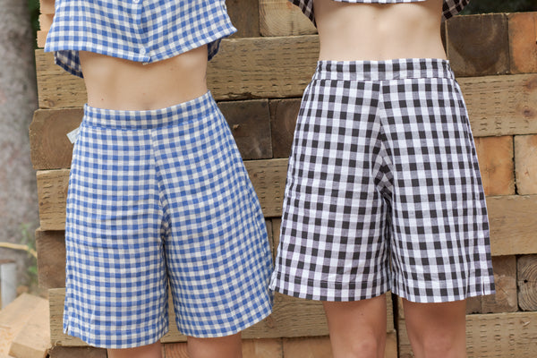 Maisie Gingham Shorts