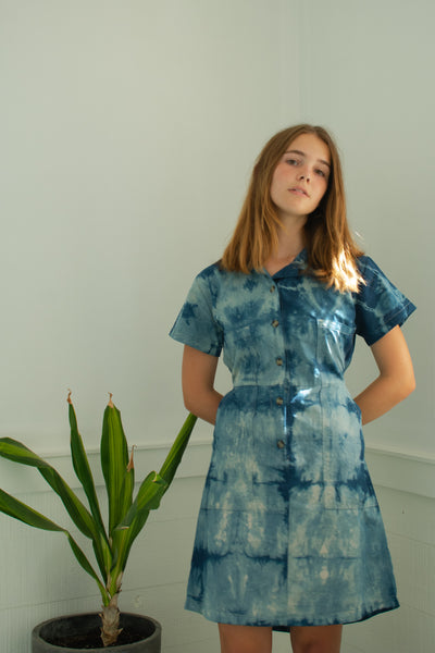 Indigo Kelly Shirt Dress #3 - XS