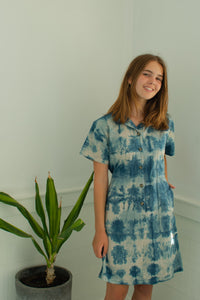 Indigo Kelly Shirt Dress #4 - XS
