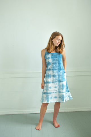Indigo Jeanne Slip Dress #2 - XS/S
