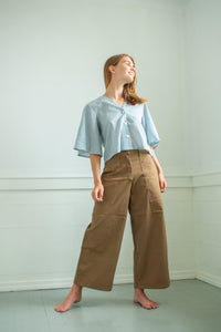 Lindsey Pant - Brown Twill