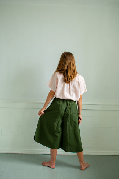 Sonya Culottes - Forest Green