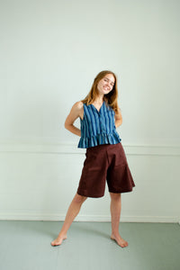 Maisie Shorts - Brown Sienna